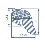 Rubber Sealing Profile