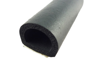 D-Profile EPDM Sponge Rubber Seals