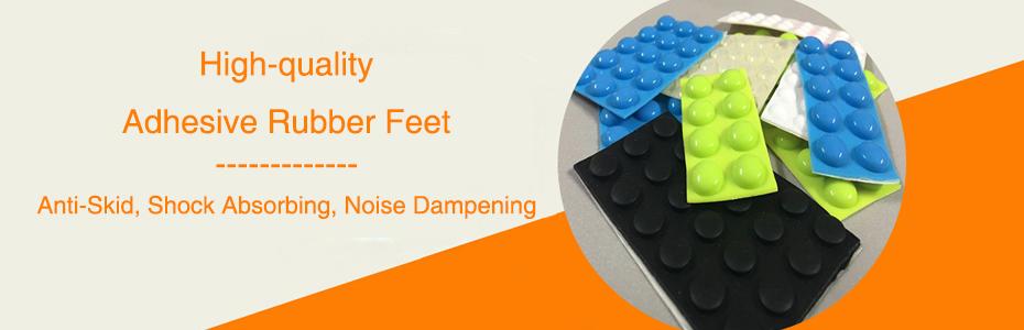 adhesve rubber feet