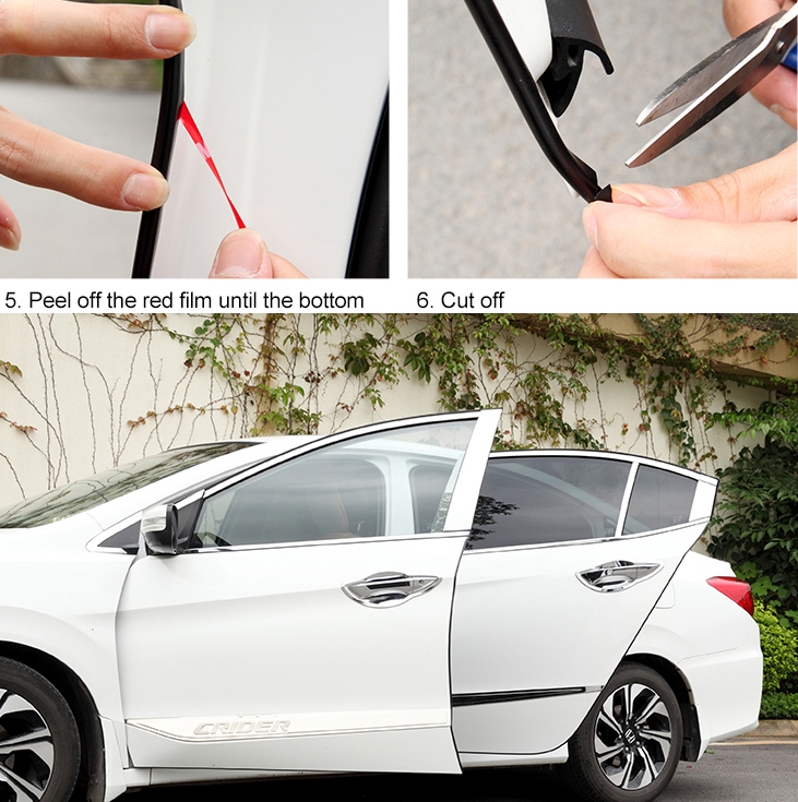 wiring harness guard car door edge guards black moulding edge trim door  car door edge guards black moulding edge trim door